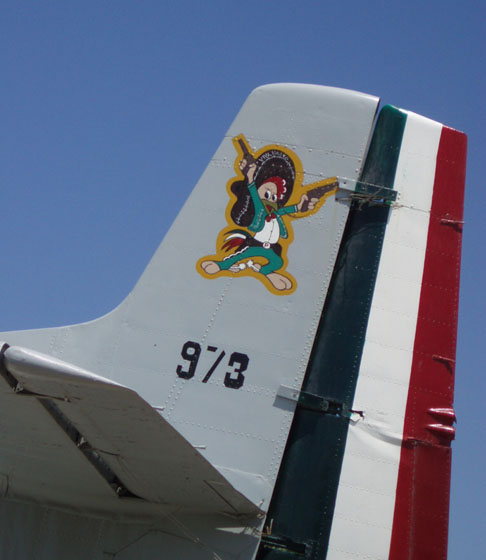 "Mexican Fighter Squadron Cozumel's ""The Aztec Eagles"""